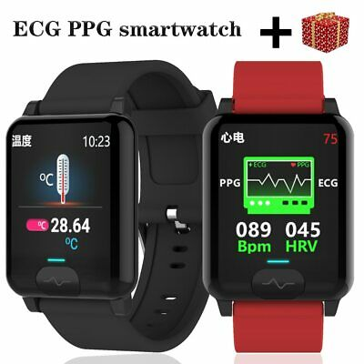 AU110.99 • Buy Ecg Ppg Smart Watch 2020 For Men Women Watches Android Ios Smartwatch E04s