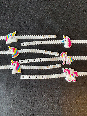 AU1 • Buy Unicorn Bracelet Miscellaneous Designs For Party Loot Bag