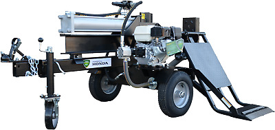 AU2699 • Buy LOG SPLITTER Hydraulic 30Ton 6.5HP Petrol Wood Splitter $2699 With Lifter!