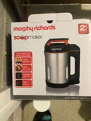 Morphy Richards 48822 1.6L Soup Maker . Brand New Never Been Used Or Opened • 54£
