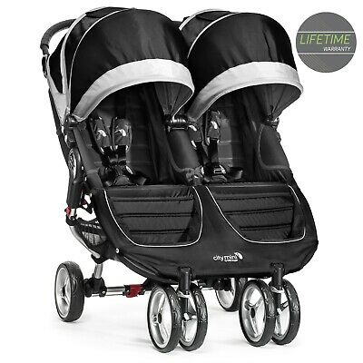 NEW Baby Jogger City Mini Double Pushchair Black RRP £449.99 • 375£