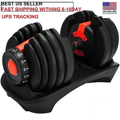 $ CDN405.98 • Buy Bowflex SelectTech 552 Adjustable Single Dumbbell - New- Fast Free Shipping