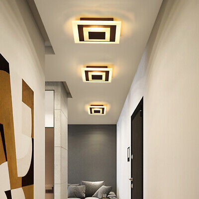 £25.89 • Buy Acrylic Modern LED Square Lamp Chandelier Ceiling Light Dimmable For Living Room