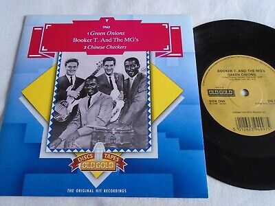 £7.75 • Buy Booker T & The Mgs - Green Onions / Chinese Checkers Old Gold 7  Ps