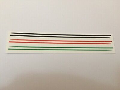 £3.80 • Buy 1/18 Scale Modified Tuning 3 OFF SIDESTRIPES Decals