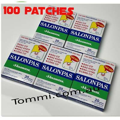 AU20.99 • Buy Salonpas Patch Hisamitsu Pain Relieving  - Made In Vietnam 8 Boxes 96 Patches