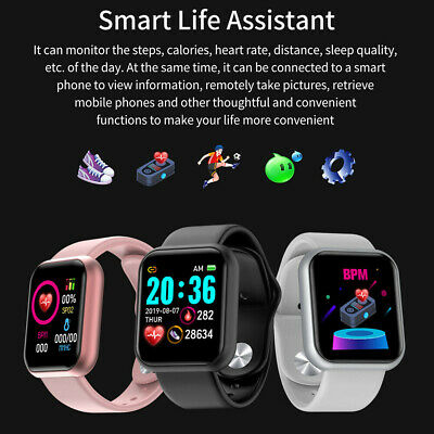 AU17.36 • Buy Bluetooth Smart Wrist Watch Phone Android Samsung IPhone Waterproof Man Women 🔥