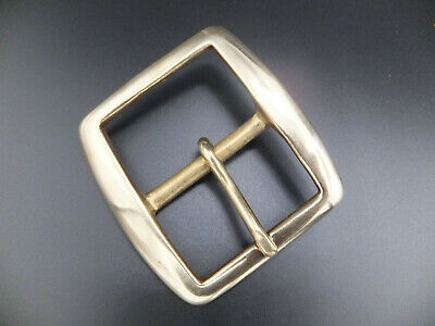 £4.35 • Buy Solid Brass  [ 1-3/4  - 44 Mm ] Cast Re Enactment Belt Buckle Leather Craft 562