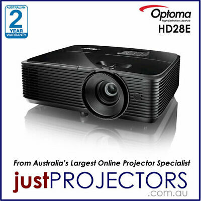 AU979 • Buy Optoma HD28E FULL HD Projector From Just Projectors. 2 Year Aussie Warranty