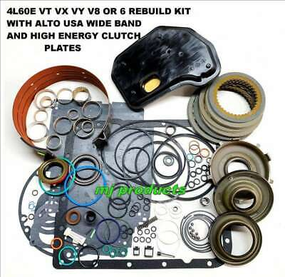 AU310 • Buy 4L60E Rebuild Kit Suit 97-03 VT-VY V6-v8 Gaskets, Clutches, Wide Band, Bushes...