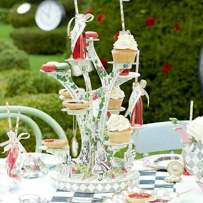 £19.95 • Buy Alice In Wonderland Tree Shaped Cake Stand Treat Stand Party