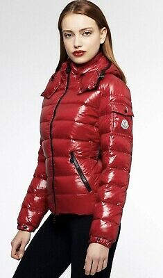 AU838.88 • Buy Moncler Women's Red Bady Padded Jacket Goose Authentic Tag  Sz 0