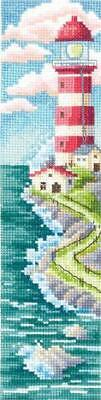 £11.69 • Buy Road To The Lighthouse -  Counted Cross Stitch Bookmark Kit By Andriana B-50