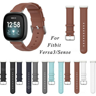 $ CDN10.70 • Buy For Fitbit Versa 3/Sense Watch Replace Leather Wristband Bracelet Band Belt Mr