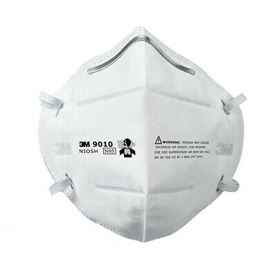 AU204.99 • Buy 50x 3M 9010 N95 P2 Particulate Respirator Protective Face Mask Filter Flat-fold