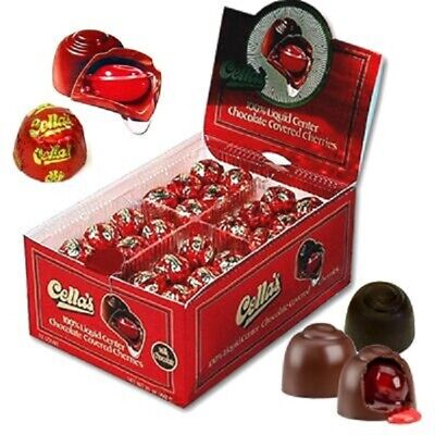 $36.99 • Buy Cella's Milk Chocolate Covered Cherries Outer Shell Cover 72 Count Sweets