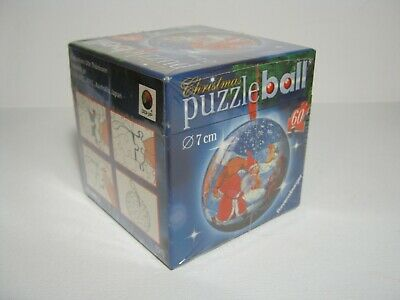 $15.50 • Buy 2005 Ravensburger 60 Piece Christmas Puzzle Ball New
