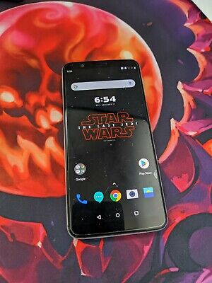 AU257.13 • Buy Water Damaged Star Wars OnePlus 5T, Everything Works But Cellular Signal/data
