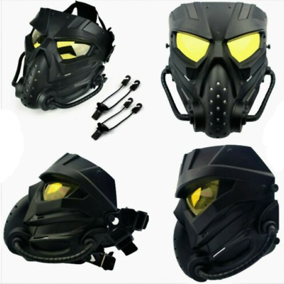 $22.49 • Buy Airsoft Paintball Tactical Mask Anti Fog Full Face CS Protective Military Helmet