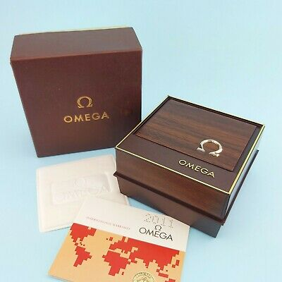 Omega BLANK Box And Paper Set For Constellation Seamaster Swiss @WatchAdoption • 324.85£