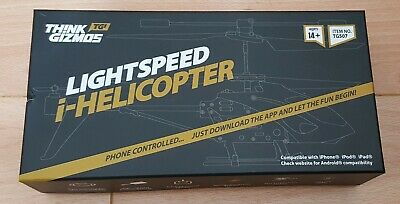 Lightspeed I-Helicopter - Phone Controlled Helicopter (Complete) • 20£