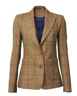 Laksen Ladies Melville Tweed Dress Jacket Size 10 • 199£