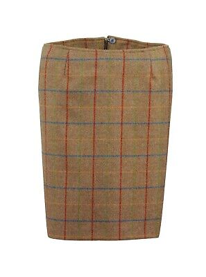 Laksen Ladies Melville Tweed Skirt Size 8-10 • 59£