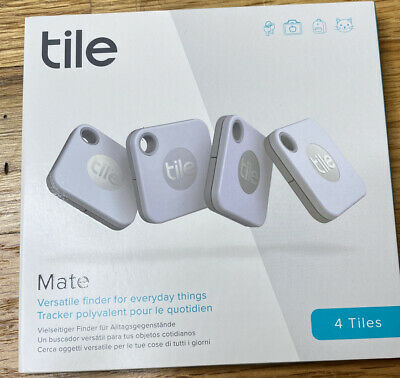 Tile Mate (2020) 4-pack -Bluetooth Tracker, Keys Finder And Item Locator T9001 • 38.99£