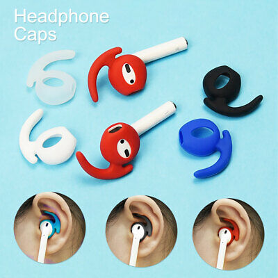 AU9.99 • Buy 1 Pair Airpods Earpod Ear Hook Cover For Airpods Earbuds Ear Tips Silicone