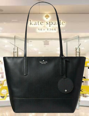 $ CDN158.21 • Buy Kate Spade Briel Large Smooth Leather Shoulder Tote Bag  Black $329