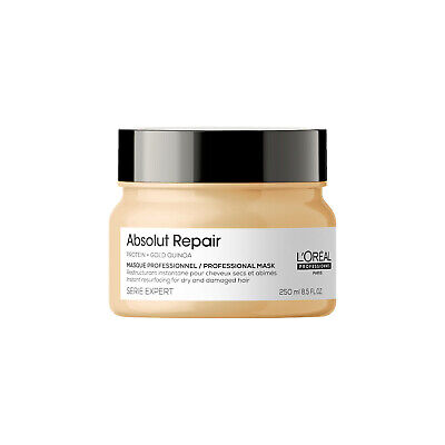 L'Oreal Serie Expert Absolut Repair 250ml Mask With Gold Quinoa + Protein • 13.02£