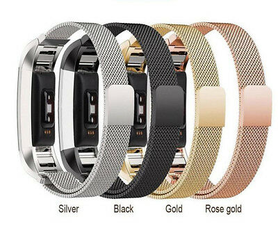 AU17.49 • Buy Metal Replacement Strap For Fitbit Alta Milanese Band Secure Magnet Wristband