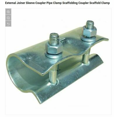 £27.99 • Buy 3 X Scaffolding Sleeve Coupler Scaffold Fittings Sleeve FAST FREE COURIER POST