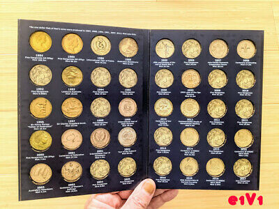 AU26.95 • Buy E1v1 One Dollar $1 Coin Collectors Album 1984 - 2017, VOL 1 (NO COINS INCLUDED)