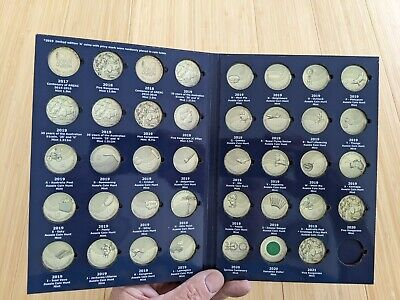 AU26.95 • Buy E1v2 One Dollar $1 Coin Collectors Album 2017-2021, VOL 2 (NO COINS INCLUDED)