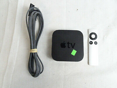 AU52.85 • Buy Apple TV 3rd Gen A1469 With Power Cord And Remote