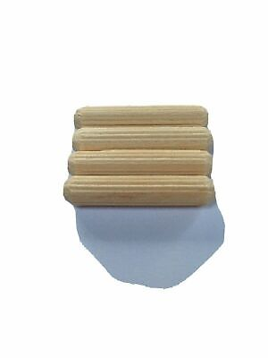 IKEA Pack Of 4 Wooden Dowels BILLY 6mm X 30mm Dowel Fixing Fitting Compatible • 1.50£