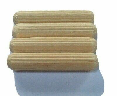 IKEA Pack Of 4 Wooden Dowels BILLY 6mm X 40mm Dowel Fixing Fitting Compatible • 1.50£