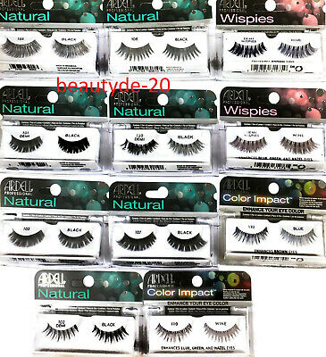 Ardell Professional Natural/ Wispies/ Color Impact Strip Eyelashes-FREE UK POST! • 3.49£