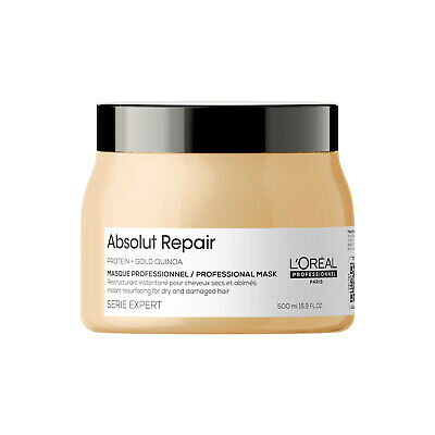 LOreal Professionnel Serie Expert Absolut Repair Gold Mask 500ml • 17.89£