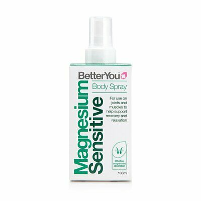 BetterYou Magnesium Oil Sensitive Body Spray For Joints & Muscles ( 100ml ) • 9.95£