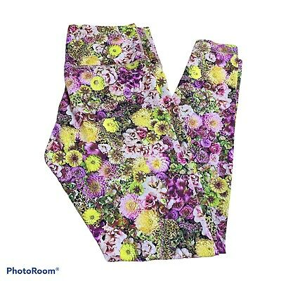 $ CDN107.58 • Buy Lululemon Wunder Under High Rise Tight RARE Floral Print Size 10 Leggings