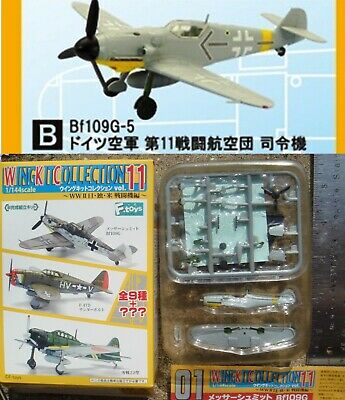 AU35.33 • Buy F-Toys 1/144 Wing Kit Collection Vol. 11 BF109G-5 Germany 11st Squadron (1B)