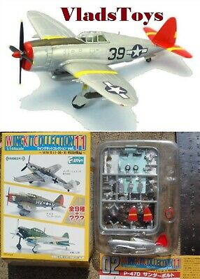 AU43.19 • Buy F-Toys 1/144 Wing Kit Collection Vol. 11 P-47D Thunderbolt AF-302th Squadron 2B