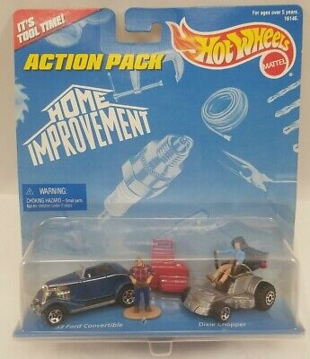 AU21.73 • Buy Hot Wheels New Action Pack Home Improvement Dixie Chopper And '33 Ford Tool Time