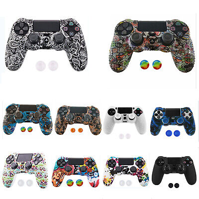 AU8.09 • Buy PS4 Controller Soft Silicone Cover Thick Skin Rubber Grip Anti Slip Case Protect
