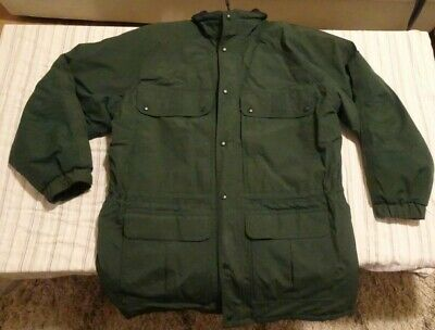 $65 • Buy VINTAGE 80's MEN'S Maine Wardens Parka Green Gore-Tex Thinsulate USA Size Large