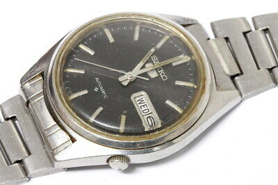 $ CDN62.39 • Buy Seiko 6309-7150 Japan J Automatic Watch Running, For Repairs Or For Parts -11615