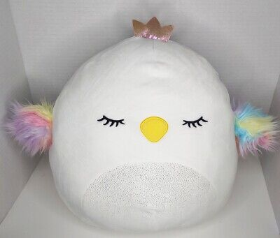 "$ CDN35 • Buy Squishmallows Serena Swan Crown 12"" Plush Doll Toy Pillow"