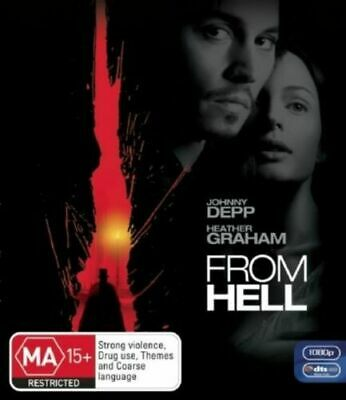 AU14.90 • Buy FROM HELL New Blu-Ray JOHNNY DEPP ***